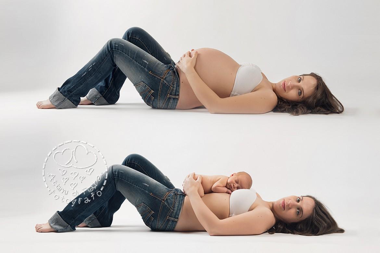 Santiago, Anna ed Enrico – Fotografo neonati e gravidanze a Verona